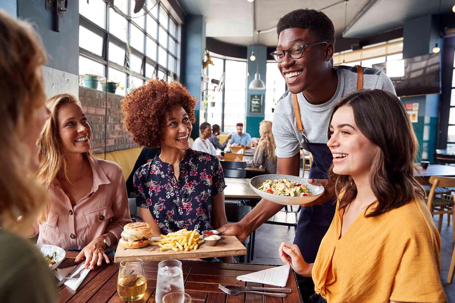 Servera din matglädje och ta betalt med Onslip kassa